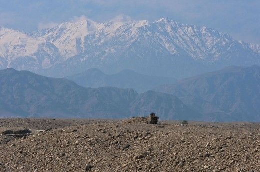 The Mountains of the Nangarhar Province