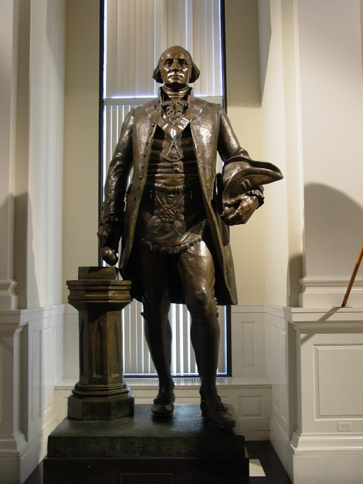 CONSERVATIVES BELIEVE THAT A MAN OF THIS STATURE IS WHO STATUES SHOULD MADE OF