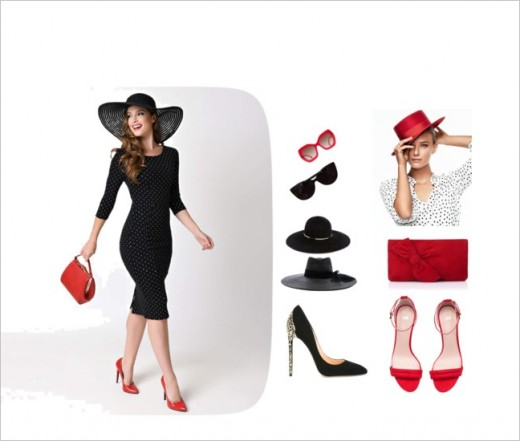 Lovely shoes and bags with that perfect hat to finish off the ensemble!
