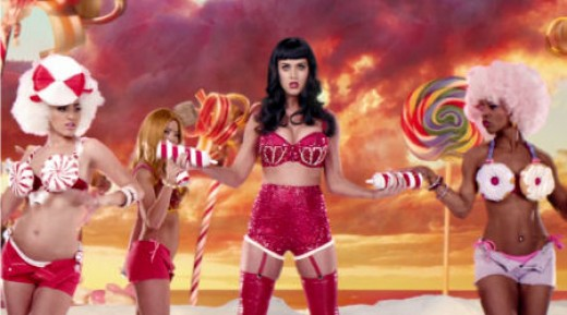 Katy Perry's cartoony image may turn off many older music listeners