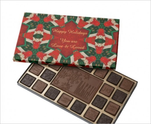 Holiday Chocolates For A Tasty Sweet Gift  for your family-colleagues or friends!