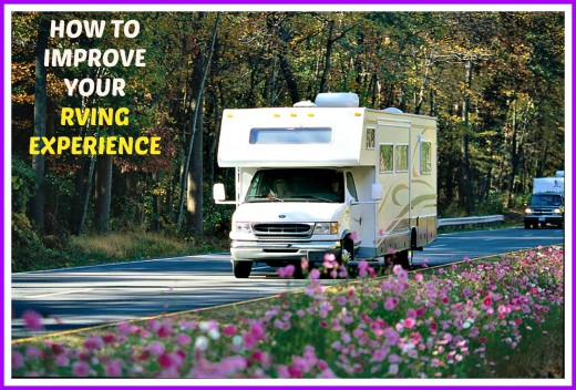 Advice from a veteran RV traveler that will help you to have better,  more enjoyable travel experiences.