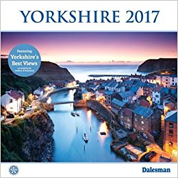 Another Dalesman 2017 calendar, this time we're by the sea at Steeaz (Staithes, near Whitby)
