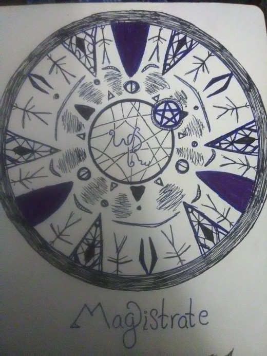 My own personal symbol, for my book of shadows.