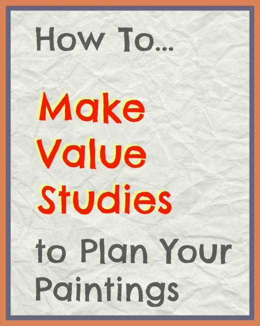 Learn how to test out value and tone of your masses to plan a good painting.
