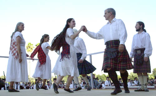 Royal Scottish Country Dance Society of San Francisco, at Pleasanton Highland Games