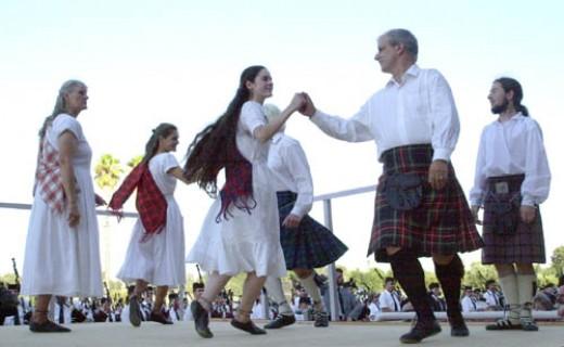 Royal Scottish Country Dance Society of San Francisco, at Pleasanton Highland Games