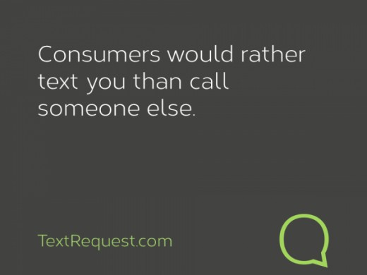 People would rather text then call you