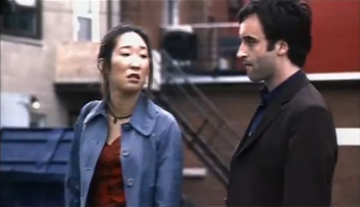 A pre-stardom Sandra Oh (left) gives the film a smidge of stardust, which is welcome amid the apocalyptic gloom