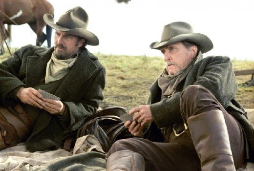 Costner and Duvall deliver controlled but plausible performances as two grizzled veterans of the Old West