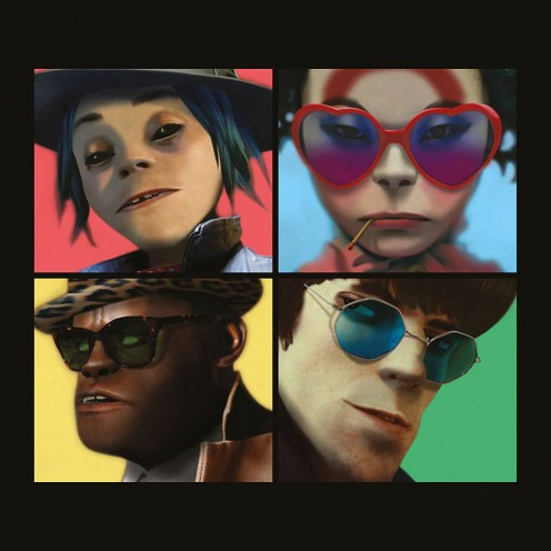 "Gorillaz's ""Humanz"" Album Cover Art"
