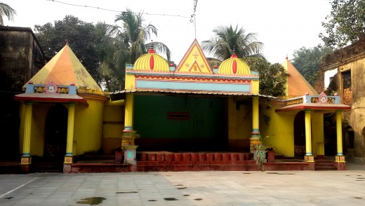 Joy Narayan temple, Bhukailash Rajbari