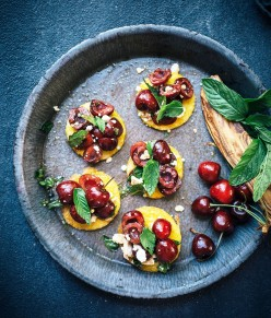 How to Make Cherry Bruschetta with Mozzarella Cheese  In 15 minutes