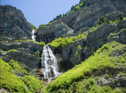 Bridal Veil Falls up Provo Canyon  Personal photo REK