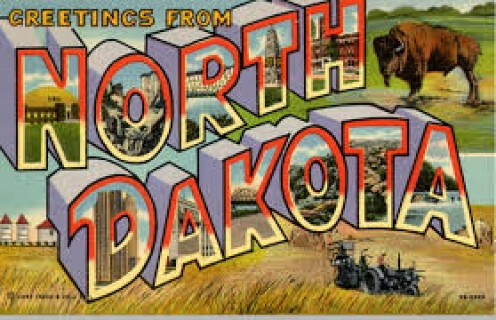 North Dakota is the 39th state of the United States of America.