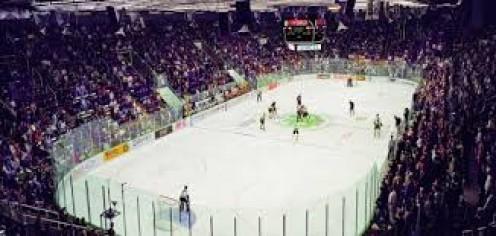 Ralph Engelstad Arena is home to the University of North Dakota Men's Hockey team.