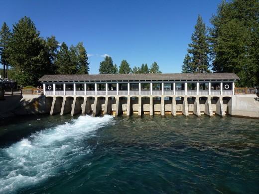 Lake Tahoe Dam, Lake Tahoe, California