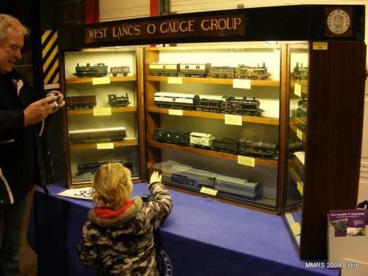 West Lancashire O Gauge showcase with a variety of locomotives and rolling stock