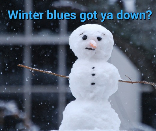 Do the winter blues got you down?