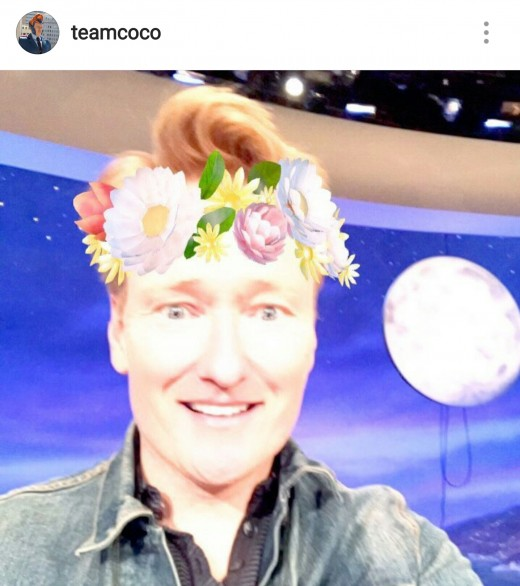 Conan O'Brien on Instagram @teamcoco