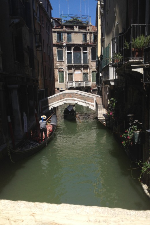 View of a Gondola