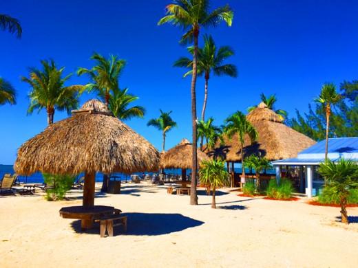 popular Tiki Bar in the Florida Keys.