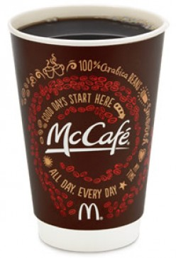 Which fast-food chain has the best coffee?