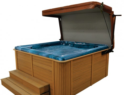 This is sort of what my hot tub looks like
