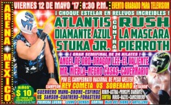 It's Friday and I'm a CMLL Running Diary!