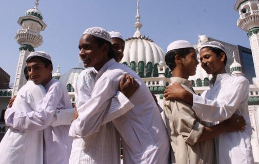 Muslims in Bermuda Celebrating Eid ul Adha .