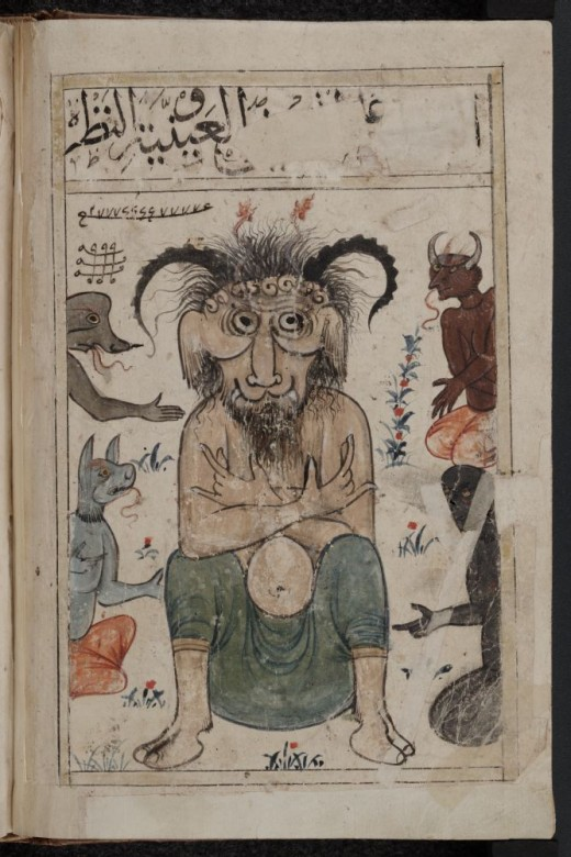 Djinn (Jinn) are demons in Islamic mythology.