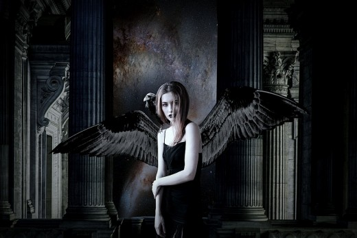The Morrigan is a dark goddess who is also a shapeshifter who can shift into the form of a crow.