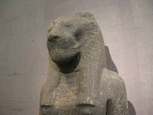 Sekhmet was an ancient Egyptian goddess of War.