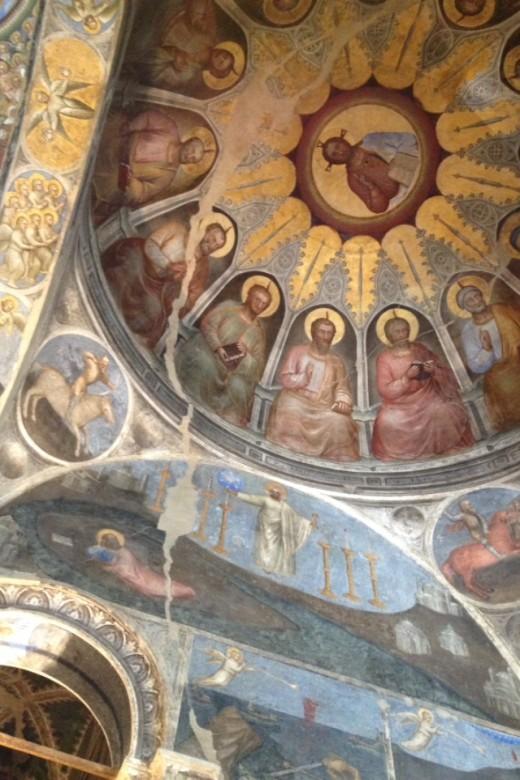 Frescoes; Baptistery of Padua