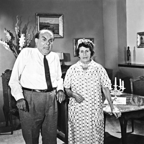 Left: Vassilis Avlonitis and right: Gerogia Vassiliadou