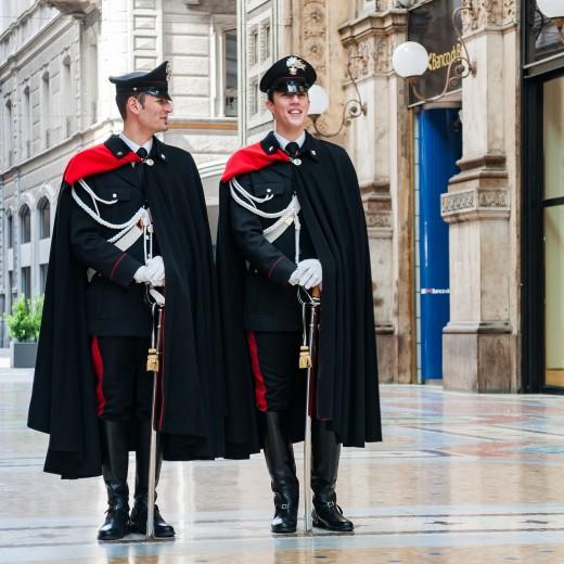 Roman Palatine Legionnaires standing guard
