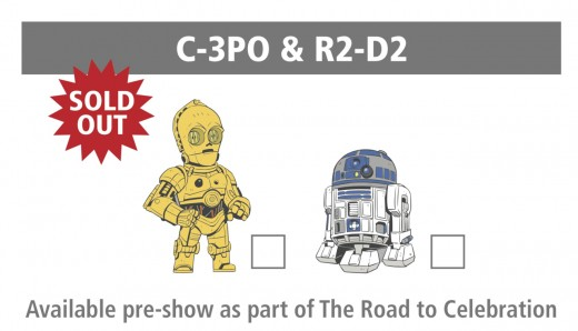 C-3PO and R2-D2 were the first pin set available prior to Star Wars Celebration 2017.