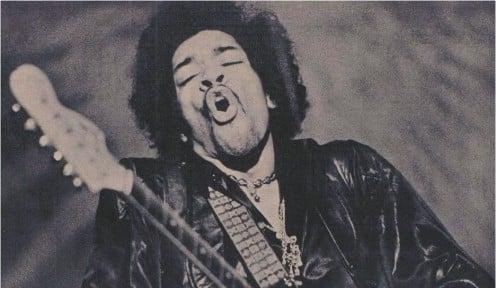 Jimi Hendrix - lives on forever