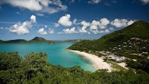 This was more like it, we thought until it came to going ashore (Hermitage Bay, Antigua)