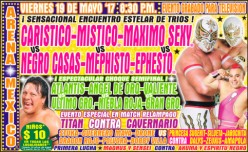 CMLL Super Viernes: Out of the Wreckage