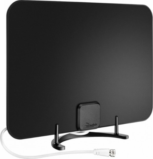 Indoor antennas pick up free local HDTV broadcasts