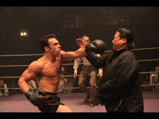 Though an often subtle player in China martial arts films, the inherent animosity between Western and Chinese fighting styles has always existed.  Ip Man 2 was the first movie to openly address this conflict while trying to respect both as well.