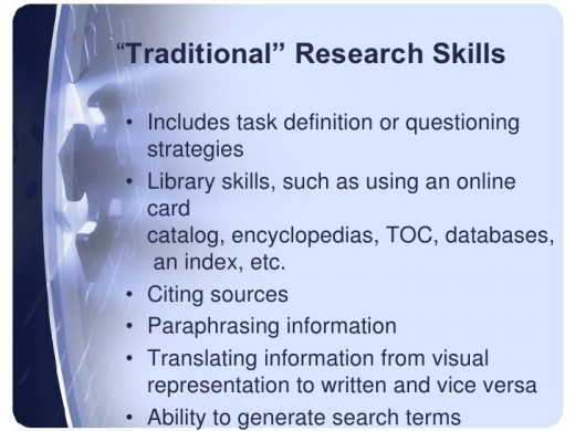 Proper Research Skills to do good research