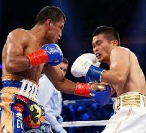 Brian Viloria, right, fought his heart out but it was not enough to deal with the vaunted power of Roman Gonzalez.