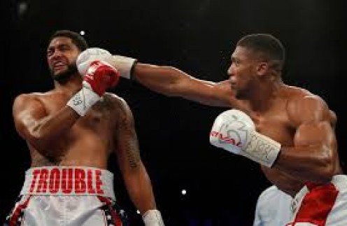 Anthony Joshua dominated, punished and knocked out Dominic Breazeale in defending his IBF heavyweight crown.