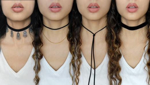 Types of trendy chokers in 2017