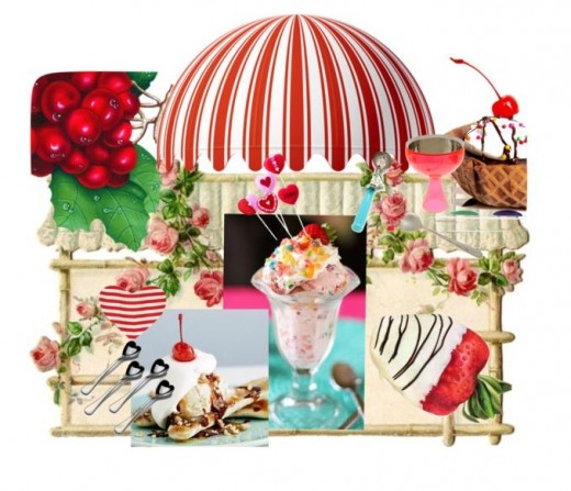 Spectacular ice cream sundaes for young and old!