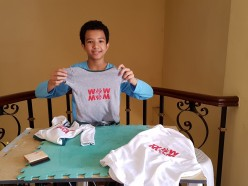 Tee Shirt Printing for Kids, Our Homeschooling Project