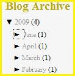Blog Archive Showing Updates