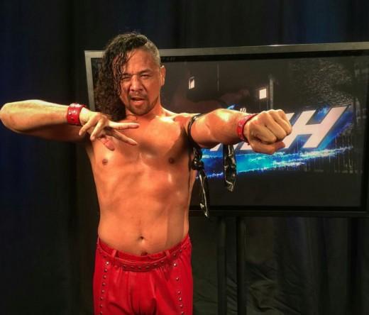 Shinsuke Nakamura. Photo: WWE